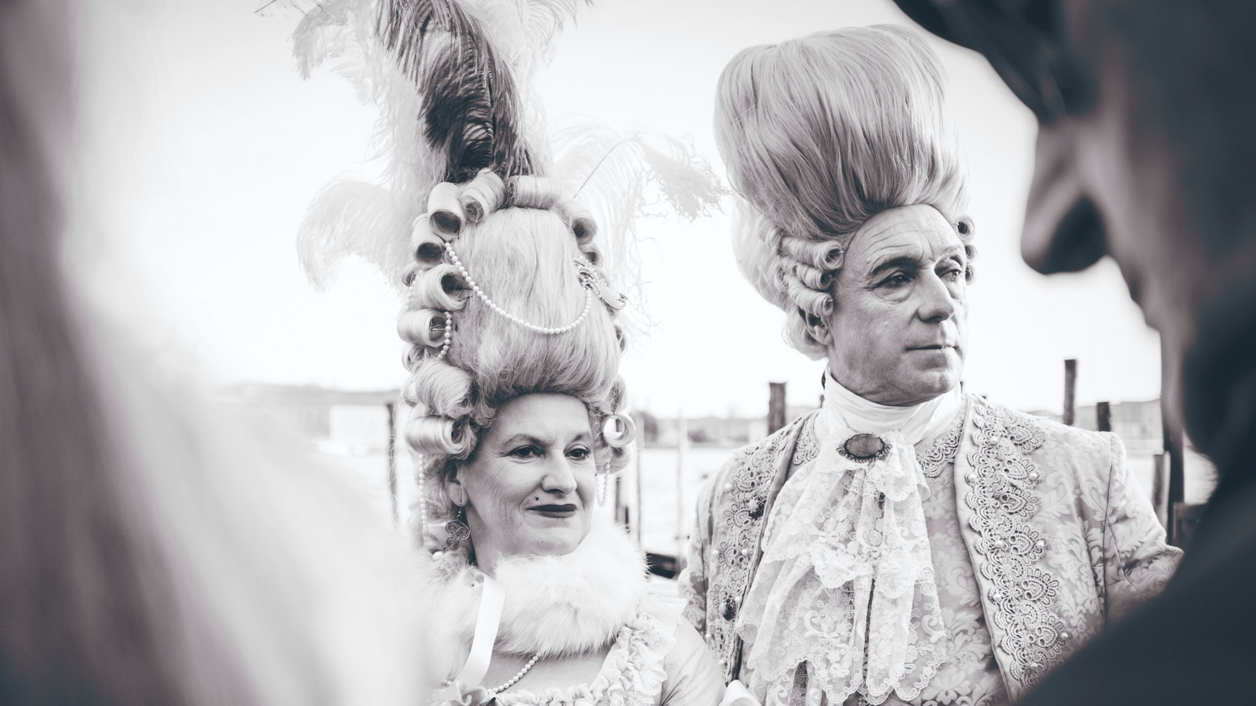 Why did People Wear Powdered Wigs